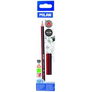 milan-harilik-pliiats-kustukummiga-HB-12tk-karbis-punane.jpg