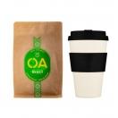 Kinkekomplekt jõuluks: 400ml kohvitops + 250g OA kohviuba