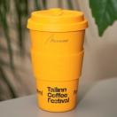 Ärikink Ecoffee Wood kohvitops logoga