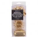 ARTE komplekt pakkepael + 2 rosetti kuld 5mmx10m*