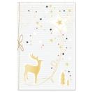 ARTE jõulukaart Põder ja tähed*