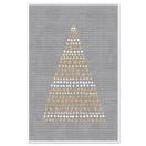 ARTE jõulukaart Täppidest kuusk hall*