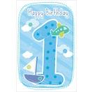 ARTE õnnitluskaart 1. aastasele poisile*