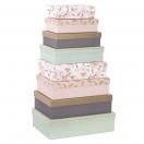 ARTEBENE kinkekarp Finest roosa sulgedega 28x19,5x7,5cm
