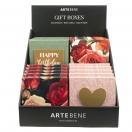 ARTE kinkekarp MINI Rock`n Roses 10x10x1,8cm assortii