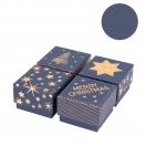 *ARTEBENE kinkekarp Christmas Trends Blue 6x6x4cm assortii
