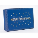 ARTE kinkekarp Jõul Trends Blue Merry Jõul 26x18.5x7cm*