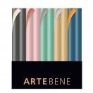 ARTEBENE kinkepaber rullis kahepoolne/erinevad värvid 70x150cm assortii