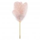 ARTE sulepastakas kinkekarbis roosa kuldse mustriga