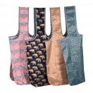 ARTE poekott kokkuvolditav assortii 49x69cm roosa/sinine/elevandid/süda