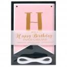 ARTE sünnipäeva dekoratsioon Happy Birthday roosa*