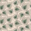 ChicMic bambusest salvrätikud 20tk pakis Line art leaves