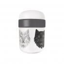ChicMic söögitops 500+200ml Bioloco Plant Wolf