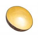 ChicMic dekoratiivne kookoskauss  Shiny yellow