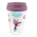 ChicMic kohvitops 350ml Bioloco Plant Watercolor Bird