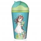CHIC.MIC bambusest joogitops kõrrega tüdruk ja konn