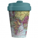 CHIC.MIC Bamboo Cup / bambustops 400ml Around the World