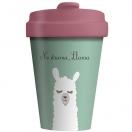 CHIC.MIC Bamboo Cup / bambustops 400ml Drama Llama*