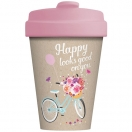CHIC.MIC Bamboo Cup / bambustops 400ml Happy looks good