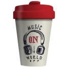 CHIC.MIC Bamboo Cup / bambustops 400ml Music on