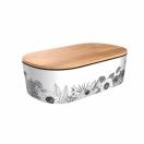 CHIC.MIC lõunasöögikarp bambusest Delux Minimalist Flowers