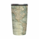 ChicMic Slide Cup bambusest 420ml Antique Map*
