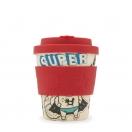 *Ecoffee Cup joogitops 250ml BooCup Superhero Fuel