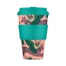 Ecoffee Cup kohvitops 400ml Emma Shipley Lynx