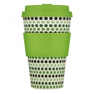Ecoffee Cup kohvitops 400ml Green Polka