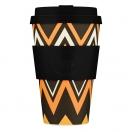 Ecoffee Cup kohvitops 400ml ZignZag
