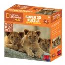 Pusle 3D NG Super 63 Aafrika Lõvid