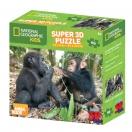Pusle 3D NG Super 63 Šimpans & Gorilla