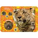 Lauamatt National Geographic Leopard 43cm x 29cm