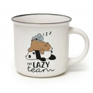 LEGAMI kohvitass portselanist 350ml Lazy Team