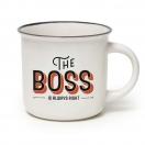 LEGAMI kohvitass portselanist 350ml The Boss