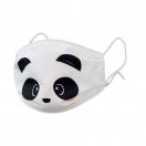 LEGAMI korduvkasutatav riidest näomask lastele Panda