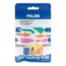 MILAN plastiliini nugade komplekt 8 erinevat