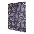 *MILAN dokumendi kaaned 33,5x26x2,5 cm Flowers Blue