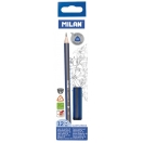 MILAN harilik pliiats kolmnurkne 2B, 12 tk karbis