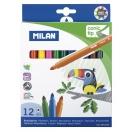 MILAN viltpliiats 12 värvi papagoi