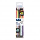 MILAN värvipliiats kolmnurkne 12 värvi Metal+Fluo