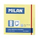 MILAN märkmepaber 7,6X7,6cm kollane