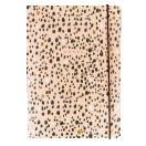 Portico A5 märkmik Roosa ja kuldne